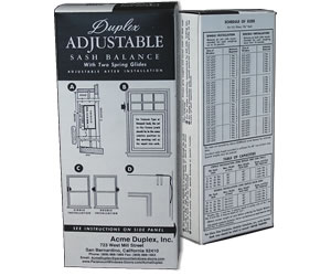 Acme Duplex Adjustable